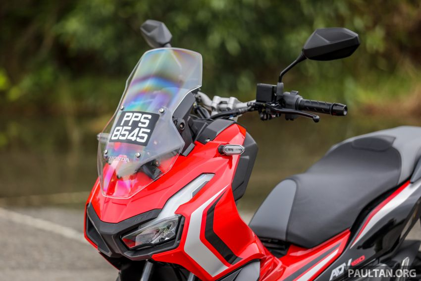REVIEW: 2021 Honda ADV150, RM11,999, offroad style Image #1275450