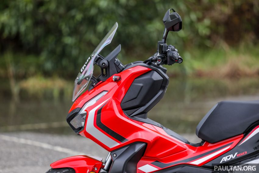 REVIEW: 2021 Honda ADV150, RM11,999, offroad style Image #1275451