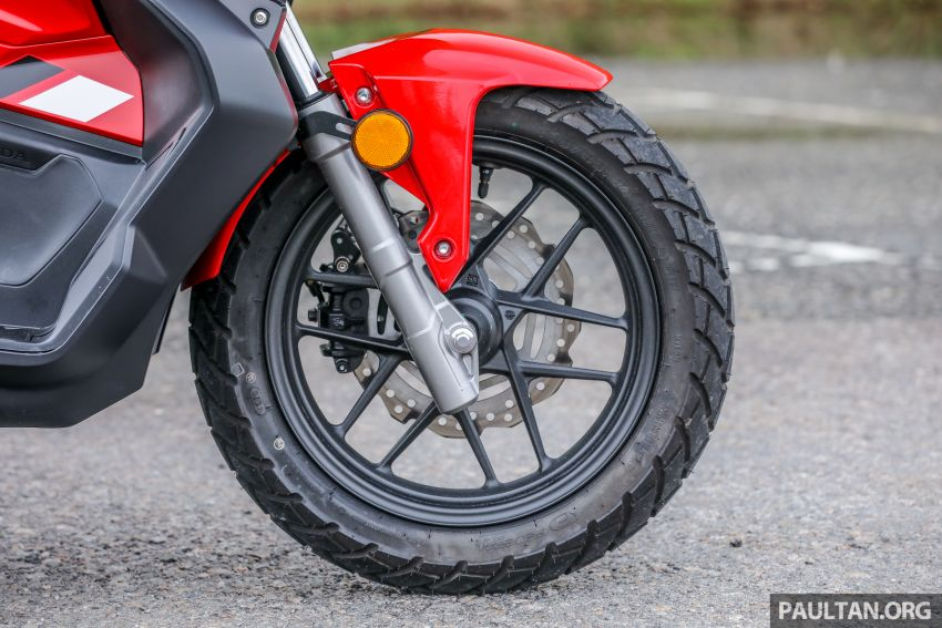 REVIEW: 2021 Honda ADV150, RM11,999, offroad style Image #1275452