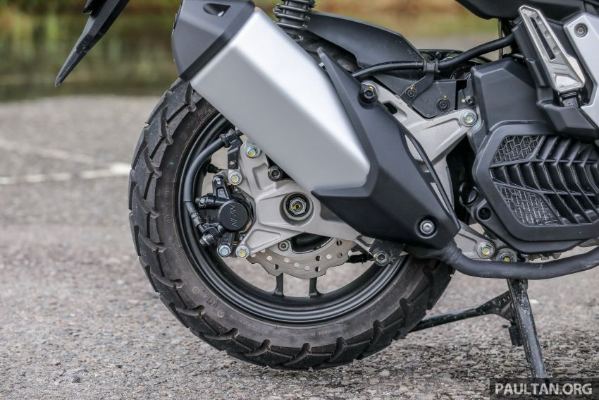 REVIEW: 2021 Honda ADV150, RM11,999, offroad style Image #1275455