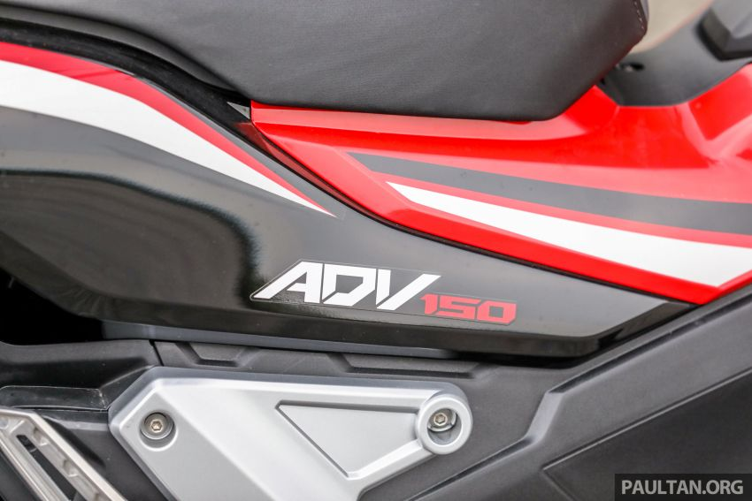 REVIEW: 2021 Honda ADV150, RM11,999, offroad style Image #1275456