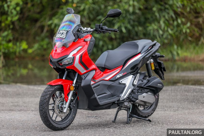 REVIEW: 2021 Honda ADV150, RM11,999, offroad style Image #1275429