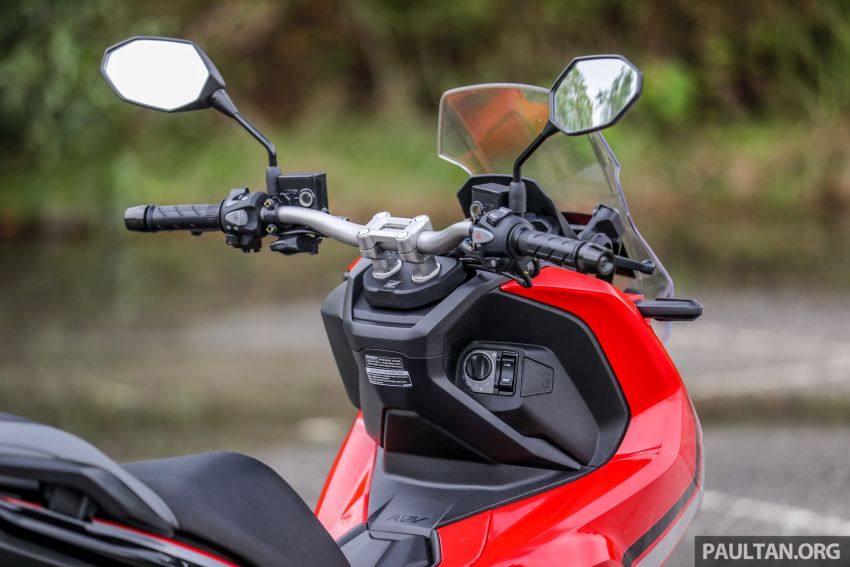 REVIEW: 2021 Honda ADV150, RM11,999, offroad style Image #1275462