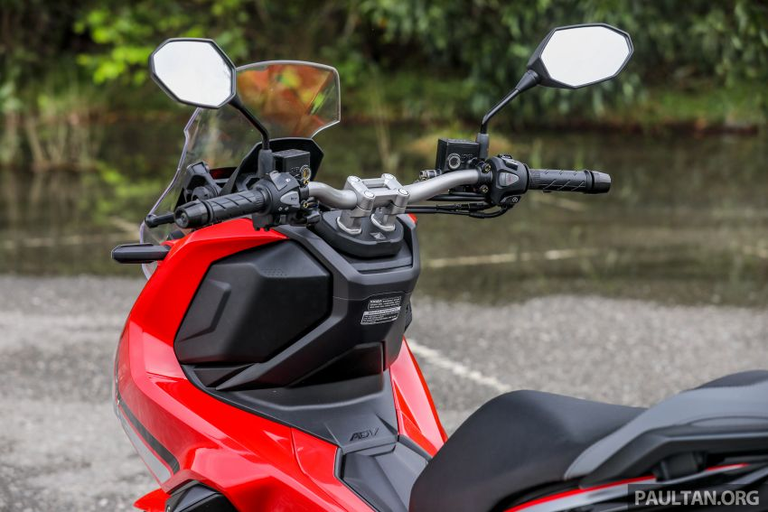 REVIEW: 2021 Honda ADV150, RM11,999, offroad style Image #1275464