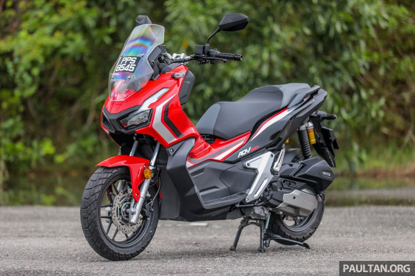 REVIEW: 2021 Honda ADV150, RM11,999, offroad style Image #1275430