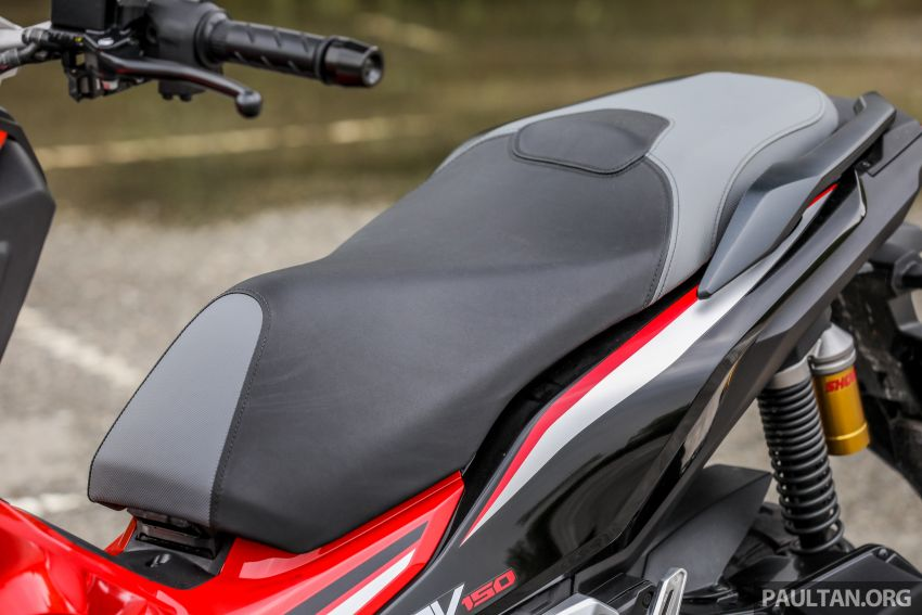 REVIEW: 2021 Honda ADV150, RM11,999, offroad style Image #1275478