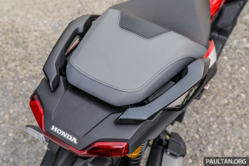 REVIEW: 2021 Honda ADV150, RM11,999, offroad style Image #1275480