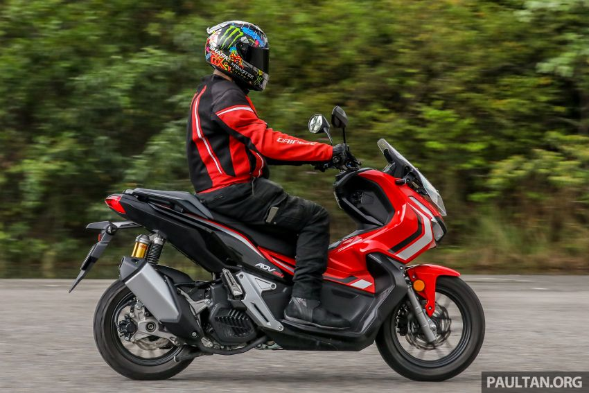 REVIEW: 2021 Honda ADV150, RM11,999, offroad style Image #1275485