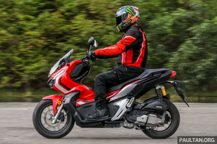 REVIEW: 2021 Honda ADV150, RM11,999, offroad style Image #1275486