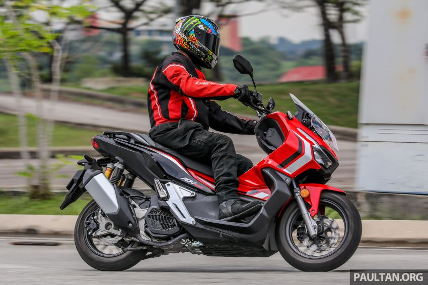 REVIEW: 2021 Honda ADV150, RM11,999, offroad style Image #1275488