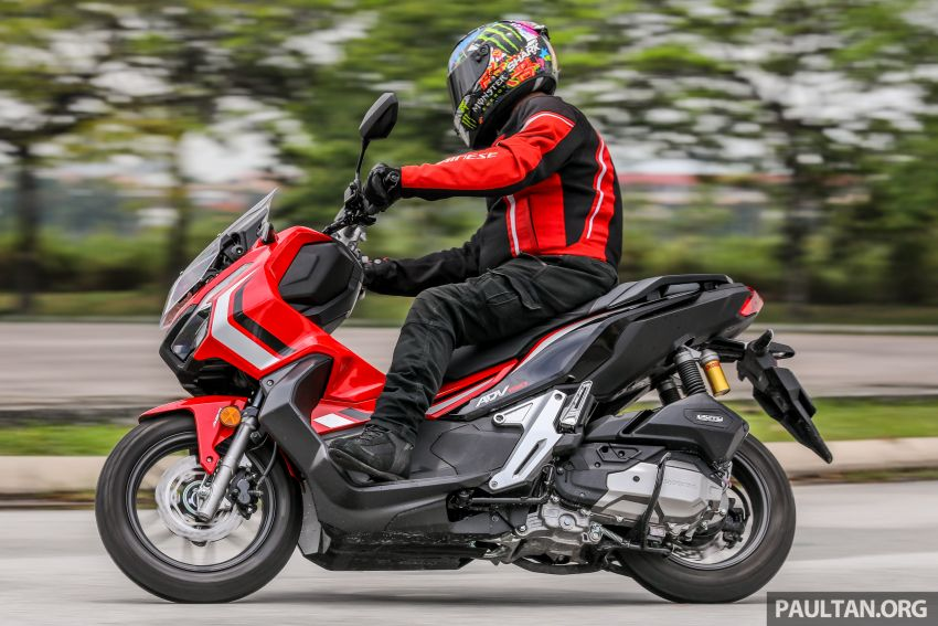 REVIEW: 2021 Honda ADV150, RM11,999, offroad style Image #1275489