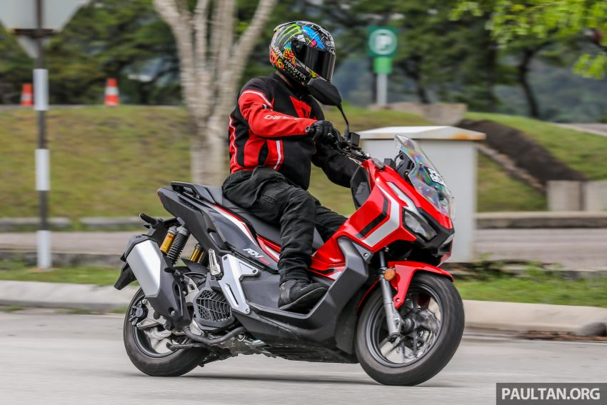 REVIEW: 2021 Honda ADV150, RM11,999, offroad style Image #1275490
