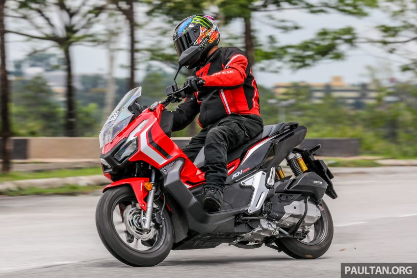 REVIEW: 2021 Honda ADV150, RM11,999, offroad style Image #1275491