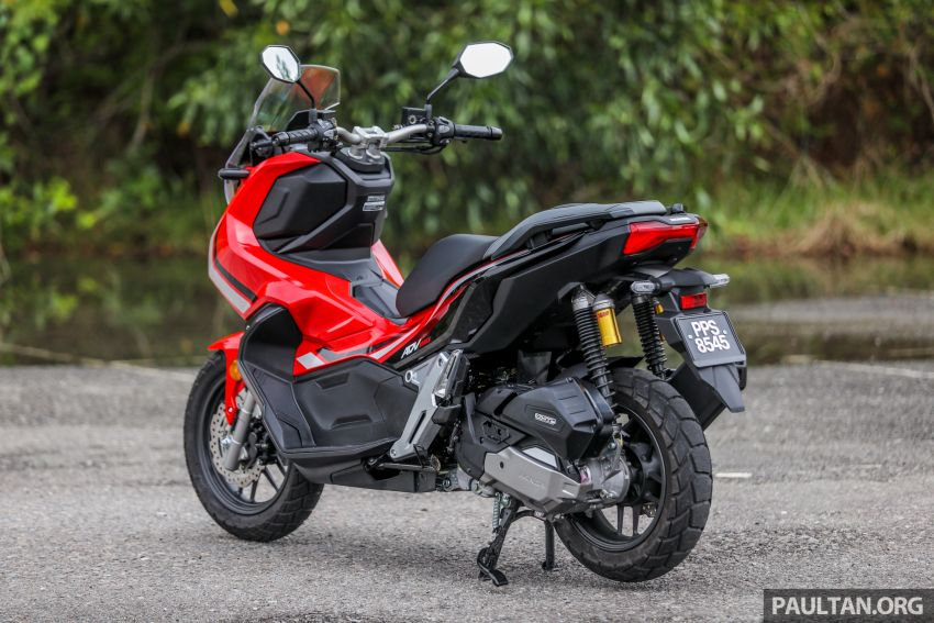 REVIEW: 2021 Honda ADV150, RM11,999, offroad style Image #1275434