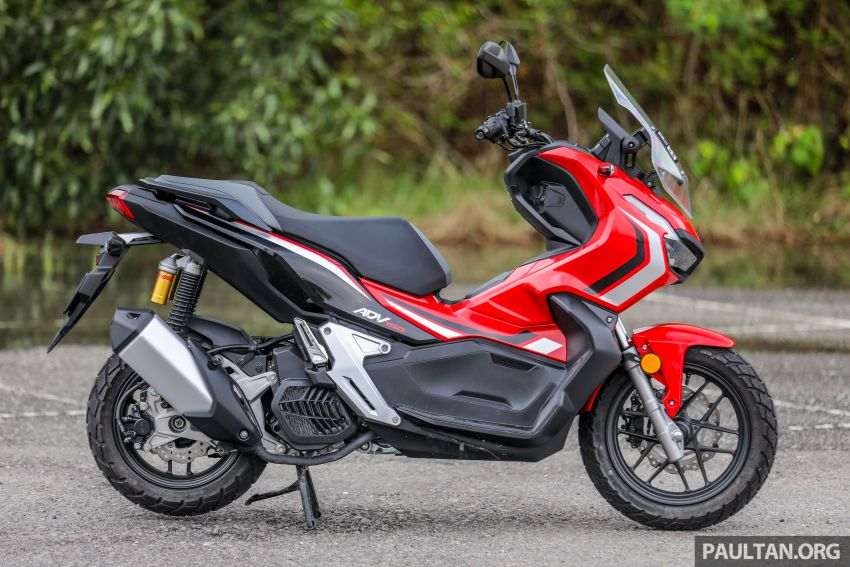 REVIEW: 2021 Honda ADV150, RM11,999, offroad style Image #1275436