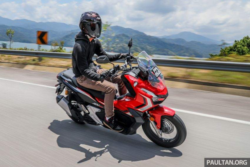 REVIEW: 2021 Honda ADV150, RM11,999, offroad style Image #1275494