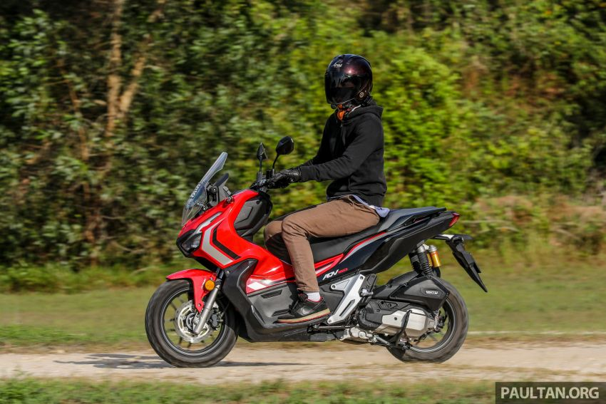 REVIEW: 2021 Honda ADV150, RM11,999, offroad style Image #1275504