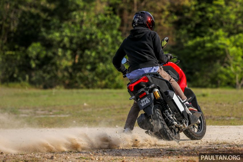 REVIEW: 2021 Honda ADV150, RM11,999, offroad style Image #1275505