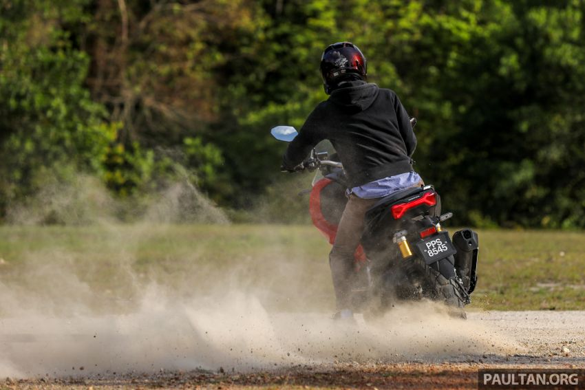 REVIEW: 2021 Honda ADV150, RM11,999, offroad style Image #1275506