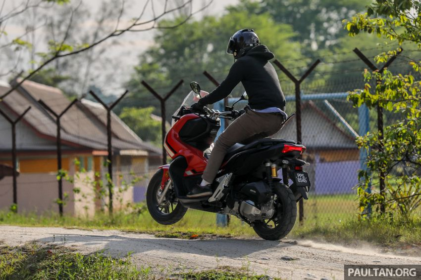 REVIEW: 2021 Honda ADV150, RM11,999, offroad style Image #1275508