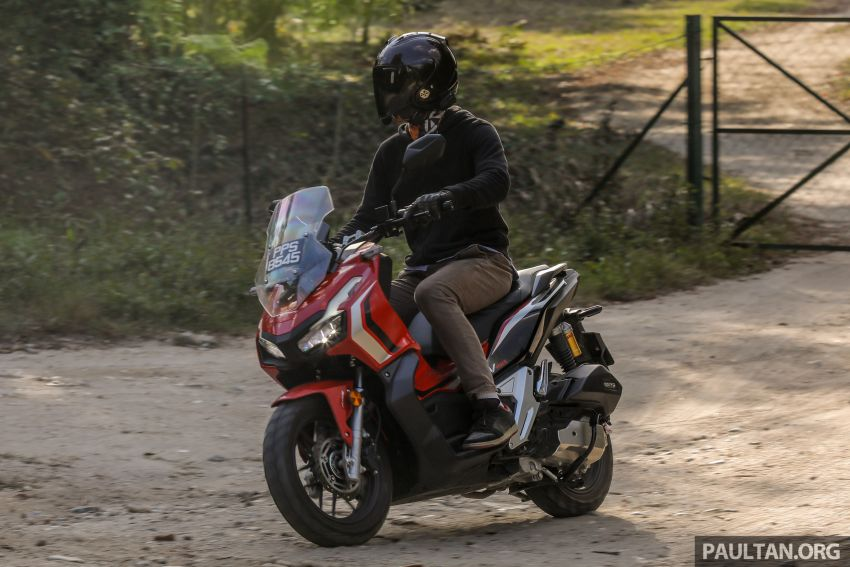 REVIEW: 2021 Honda ADV150, RM11,999, offroad style Image #1275511