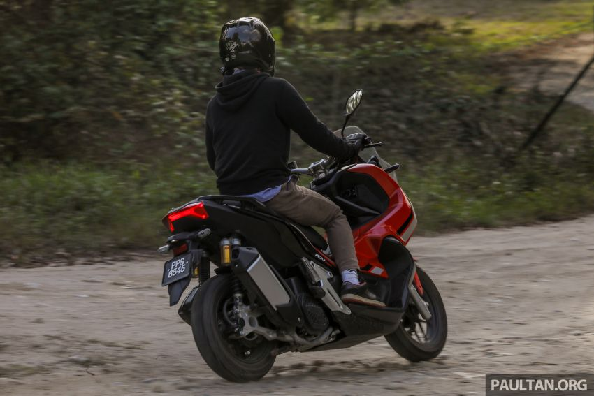 REVIEW: 2021 Honda ADV150, RM11,999, offroad style Image #1275512