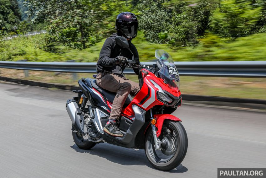 REVIEW: 2021 Honda ADV150, RM11,999, offroad style Image #1275495