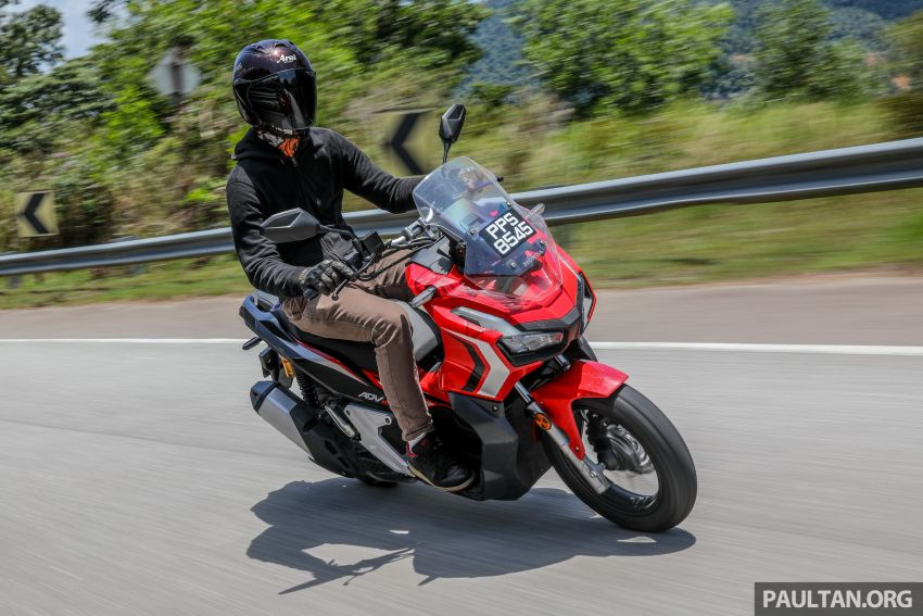 REVIEW: 2021 Honda ADV150, RM11,999, offroad style Image #1275496
