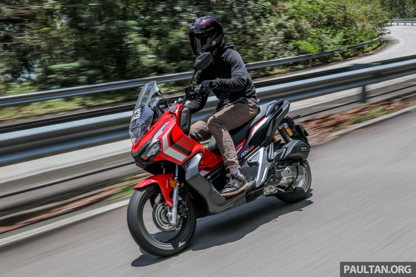 REVIEW: 2021 Honda ADV150, RM11,999, offroad style Image #1275497