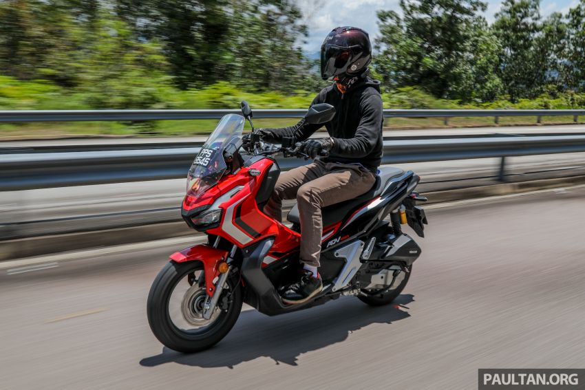 REVIEW: 2021 Honda ADV150, RM11,999, offroad style Image #1275498