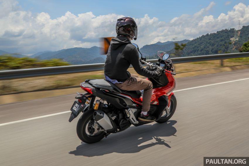 REVIEW: 2021 Honda ADV150, RM11,999, offroad style Image #1275500