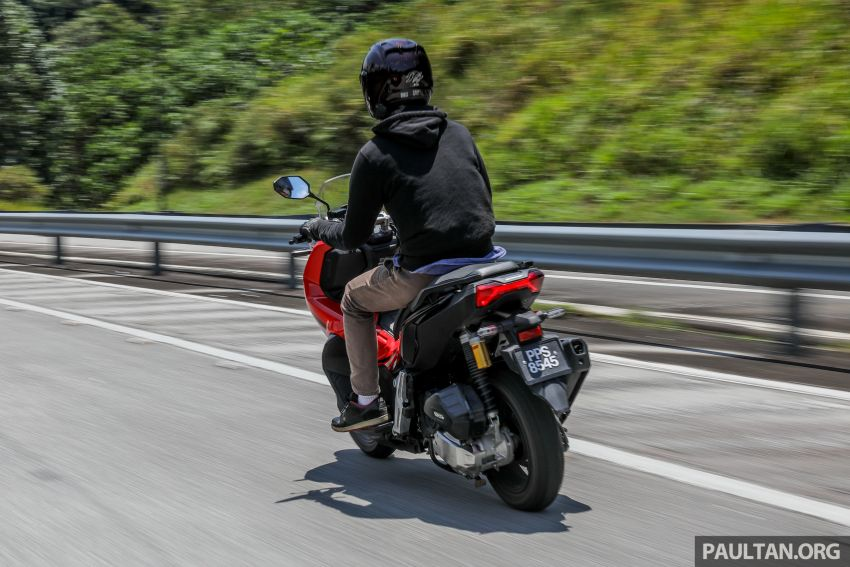 REVIEW: 2021 Honda ADV150, RM11,999, offroad style Image #1275501