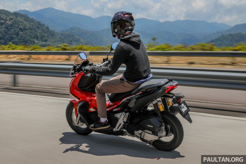 REVIEW: 2021 Honda ADV150, RM11,999, offroad style Image #1275502