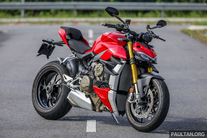 REVIEW: 2021 Ducati Streetfighter V4S, RM145,900 Image #1286865