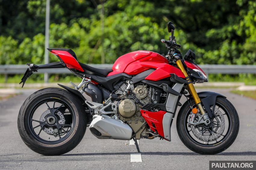 REVIEW: 2021 Ducati Streetfighter V4S, RM145,900 Image #1286874