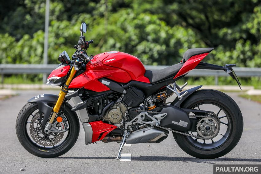 REVIEW: 2021 Ducati Streetfighter V4S, RM145,900 Image #1286877