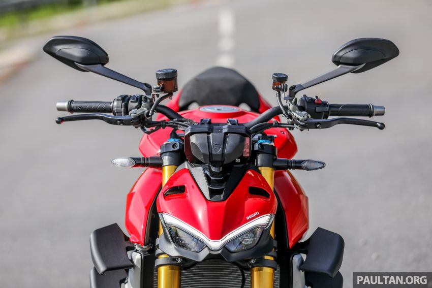 REVIEW: 2021 Ducati Streetfighter V4S, RM145,900 Image #1286885