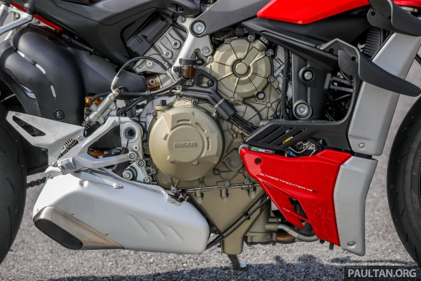 REVIEW: 2021 Ducati Streetfighter V4S, RM145,900 Image #1286895