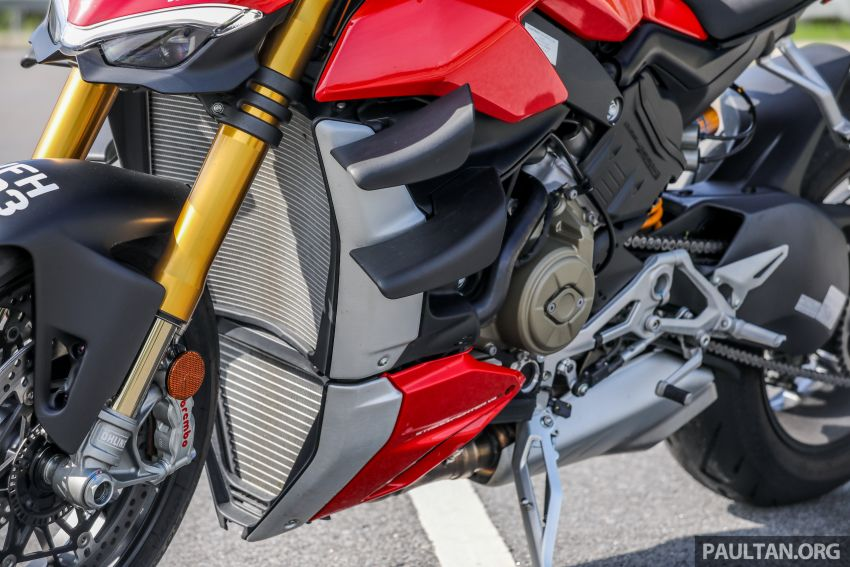 REVIEW: 2021 Ducati Streetfighter V4S, RM145,900 Image #1286908