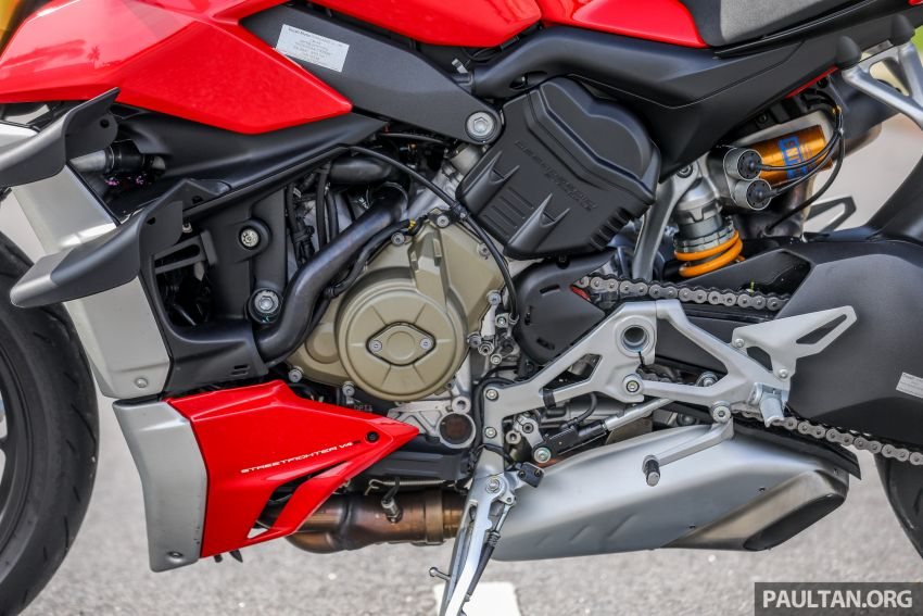 REVIEW: 2021 Ducati Streetfighter V4S, RM145,900 Image #1286909
