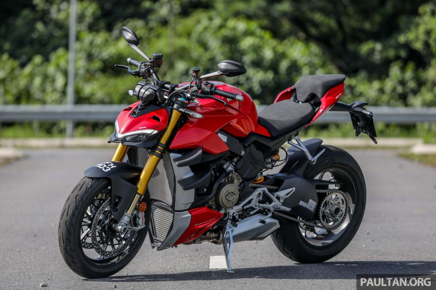 REVIEW: 2021 Ducati Streetfighter V4S, RM145,900 Image #1286868