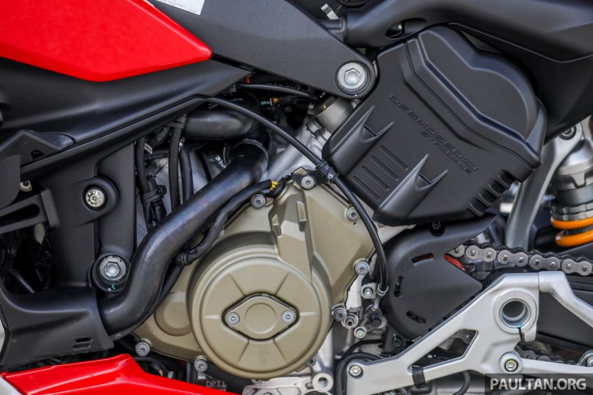 REVIEW: 2021 Ducati Streetfighter V4S, RM145,900 Image #1286910