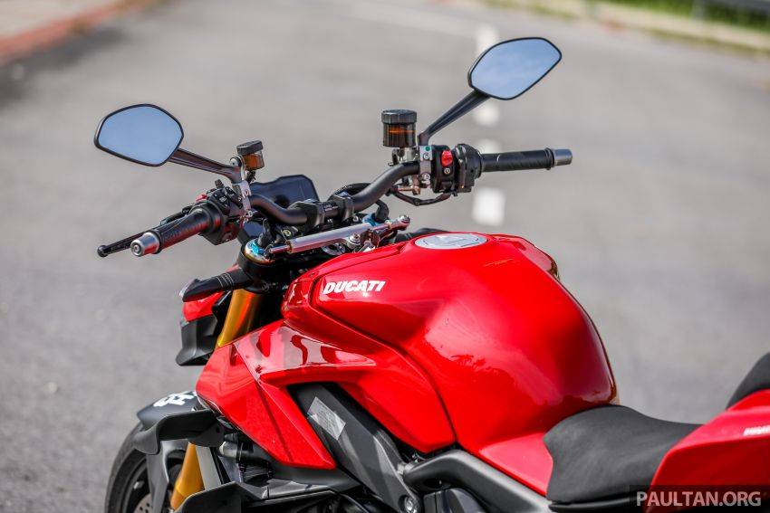 REVIEW: 2021 Ducati Streetfighter V4S, RM145,900 Image #1286916