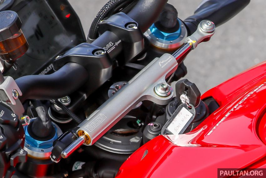 REVIEW: 2021 Ducati Streetfighter V4S, RM145,900 Image #1286920