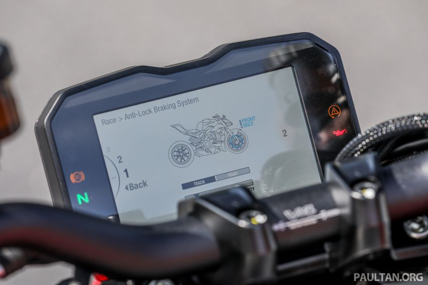 REVIEW: 2021 Ducati Streetfighter V4S, RM145,900 Image #1286933