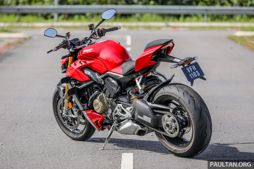 REVIEW: 2021 Ducati Streetfighter V4S, RM145,900 Image #1286871