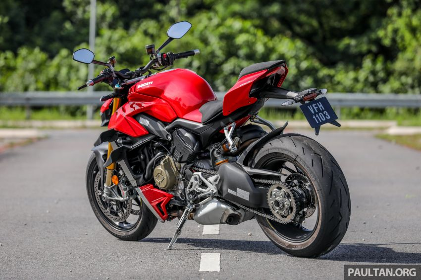 REVIEW: 2021 Ducati Streetfighter V4S, RM145,900 Image #1286872