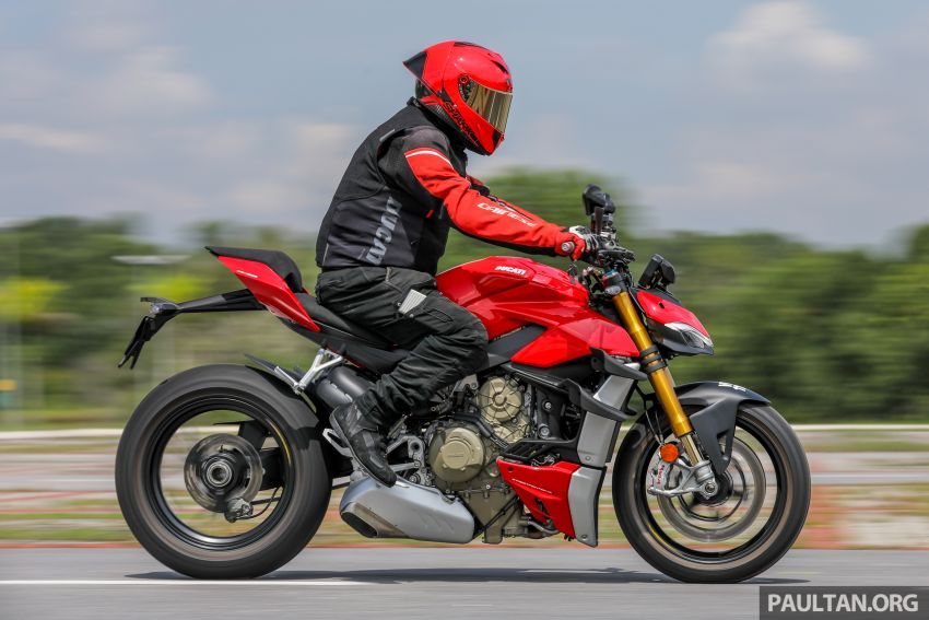 REVIEW: 2021 Ducati Streetfighter V4S, RM145,900 Image #1286958