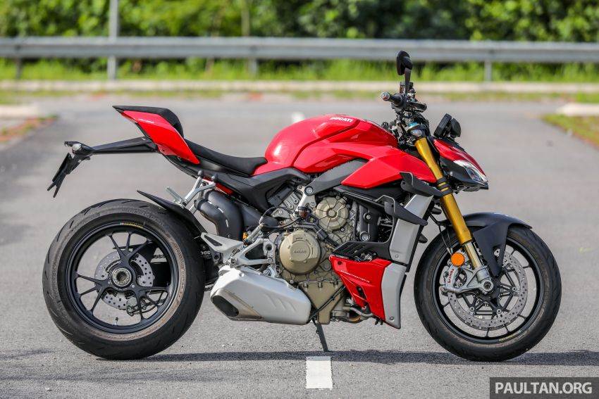 REVIEW: 2021 Ducati Streetfighter V4S, RM145,900 Image #1286873