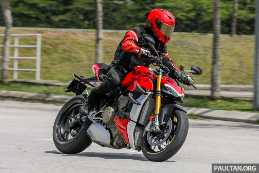 REVIEW: 2021 Ducati Streetfighter V4S, RM145,900 Image #1286960